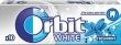 Orbit white gumy do żucia w drażetkach fresh mint, 14 g