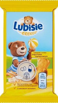 Petitki Lubisie jogurtowo bananowe 7622210082404 w dodomku.pl Lubisie