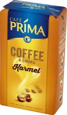 Cafe Prima kawa mielona o smaku karmelu, 227 g