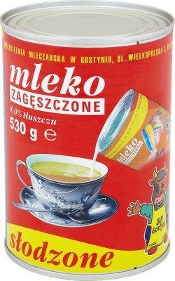 SM Gostyń mleko zagęszczone słodzone w puszce 8% tłuszczu, 530 g