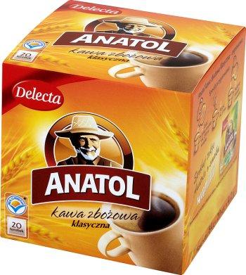 Delecta Anatol kawa zbożowa w torebkach , 20 szt.