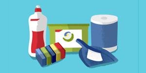 productos químicos, productos de limpieza