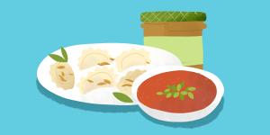 świeże dania obiadowe