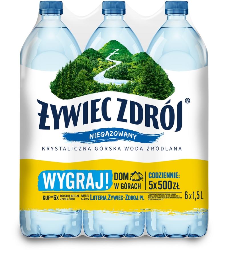 Żywiec Zdrój woda źródlana niegazowana