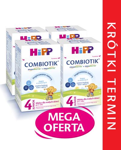 HiPP 4 Junior Combiotik mleko