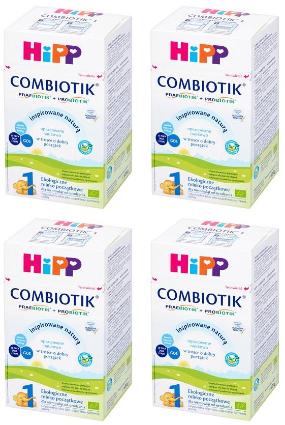 HiPP 1 BIO Organic Combiotik Säuglingsmilchnahrung für Babys von Geburt an