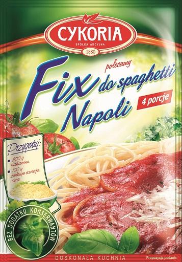 Cykoria Fix do spaghetti Napoli