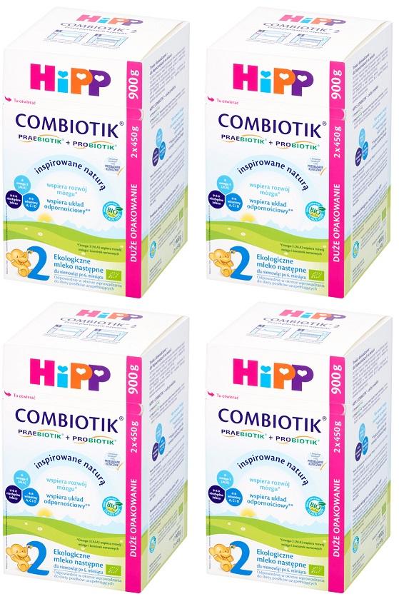 Hipp 2 Combiotik BIO Organic milk next baby