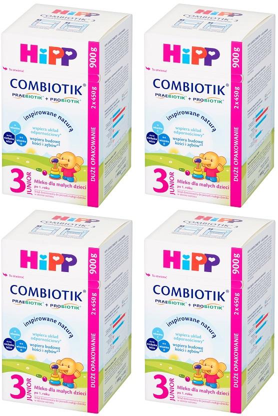 leche Hipp 3 Junior Combiotik para bebés