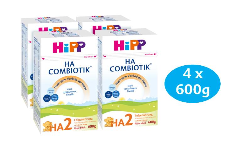 HiPP HA2 COMBIOTIK Гипоаллергенное молоко для новорожденных