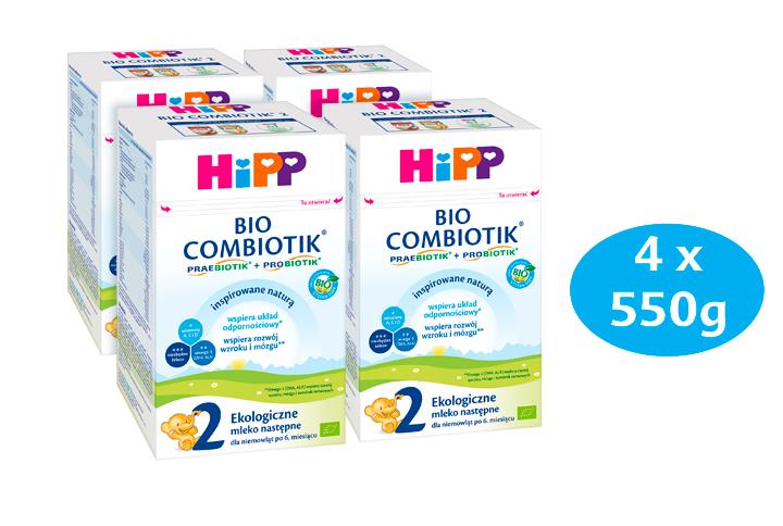 HIPP 2 BIO COMBIOTIK Ekologiczne mleko następne dla niemowląt