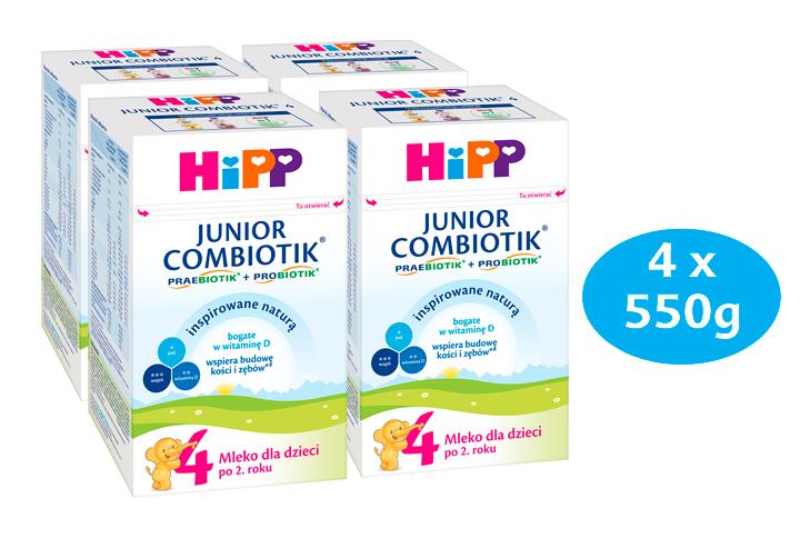HIPP 4 JUNIOR COMBIOTIK Mleko dla dzieci