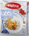Halina long grain de riz blanc 4x100 g
