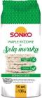 Sonko wafle ryżowe  z solą
