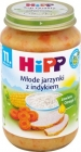 HiPP Young vegetables with rice and turkey BIO