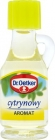 Dr. Oetker lemon flavor to cakes