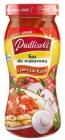 la salsa de espaguetis con champiñones