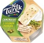 Queso azul Turek Camembert con pimiento verde