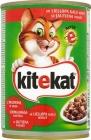 - Stücke von Lebensmitteln in Soße, für Katzen - können von Rindfleisch
