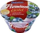 Premium blueberry yogurt