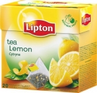 Lipton black tea flavored with lemon