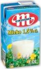 UHT 1л молока 1,5 % жирности