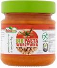La agricultura ecológica paté de tomate orgánico con garbanzos