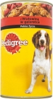 food for adult dogs , a can of beef