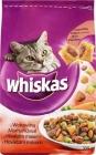Erwachsenen - Trockenfutter für ausgewachsene Katzen - eine Tüte mit Rindfleisch, Karotten und Frikadellen