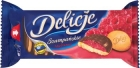 délicate framboise champagne