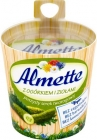 , Almette creamy cheese with cucumber and herbs