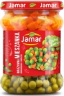 Jamar a vegetable mix of carrots and peas