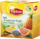black tea flavored tropical fruits - Pineapple and grapefruit
