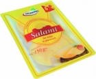 salami hard cheese slices