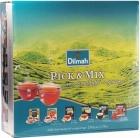 Pick н Смешайте чайный сервиз 6 х 20 пакетиков ( Angielski завтрак, Эрл Грей , чистый зеленый чай , острой ягоду , имбирь & лимон )