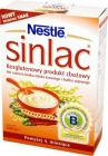 sinlac grain product gluten-free for babies with allergies milk protein cow and soy protein