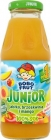 Junior 100% juice apple, peach and mango