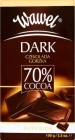 Bitter dark chocolate 70 %