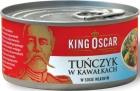 Roi accusé morceaux de thon dans son propre jus