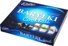 e barrel cocktail box of chocolates with alcohol in chocolate dessert