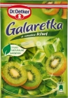 Dr. Oetker jelly with the taste of kiwi