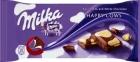 Le chocolat au lait avec du chocolat blanc