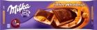 молочный шоколад с молочной начинкой со вкусом карамели с цельными орехами