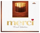 Merci A collection of dessert chocolates
