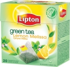 green tea tea 20 bags of lime and lemon balm