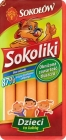 Sokoliki Chicken and veal sausages , smoked and steamed , 87 % of the meat
