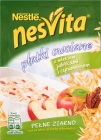nesvita oatmeal with milk, apples and cinnamon