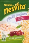 nesvita oatmeal with milk and cherries