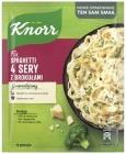 Knorr Fix Spaghetti 4 fromage avec du brocoli
