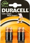 Alkaline batteries LR03 AAA sticks mini 1.5 v